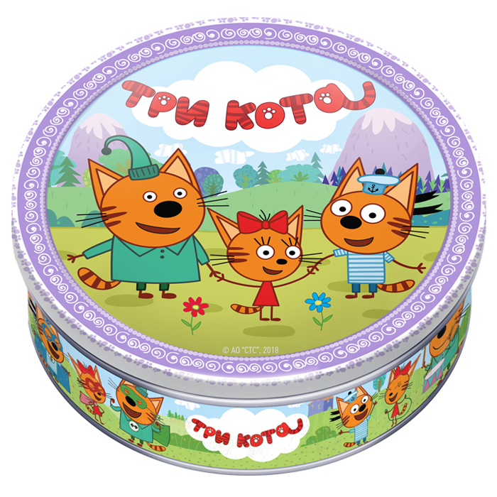 Картинка на торт три кота